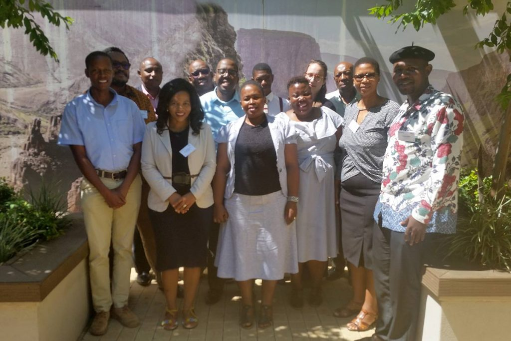 Capacity Building Training Lesotho