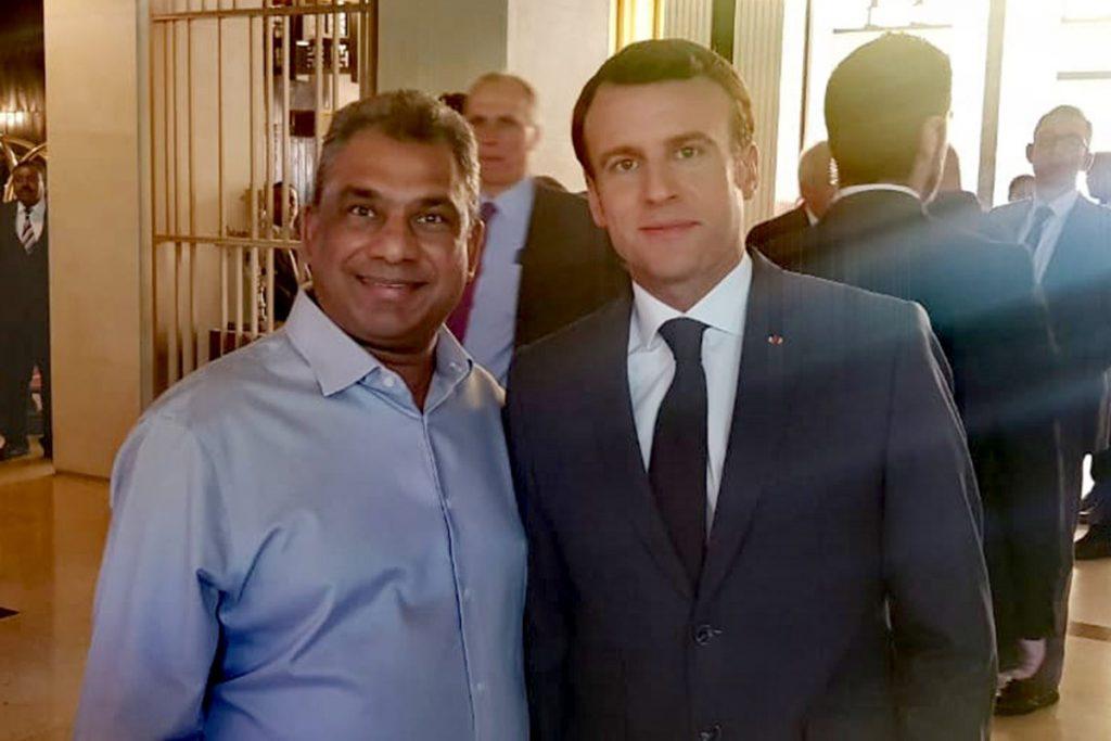 Gounden Meets Macron
