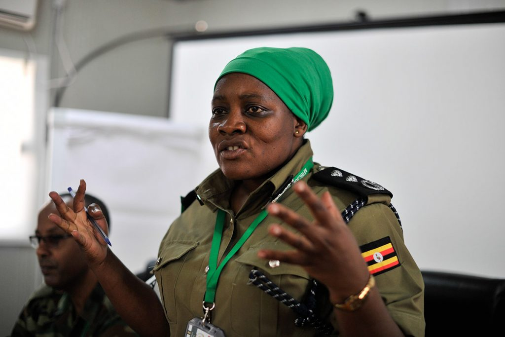 Police Commissioner Christine Alalo