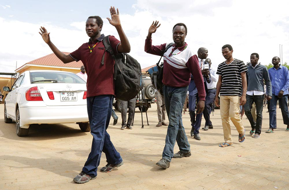 South Sudanese political detainees