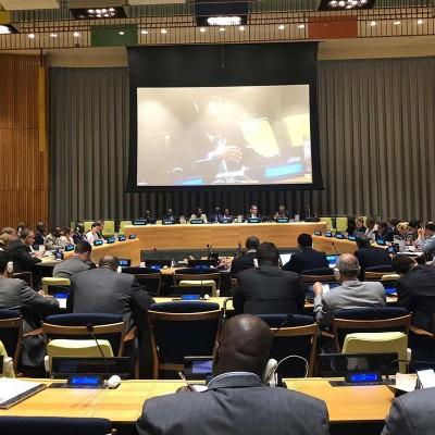 Vasu Gounden Addresses UNSC