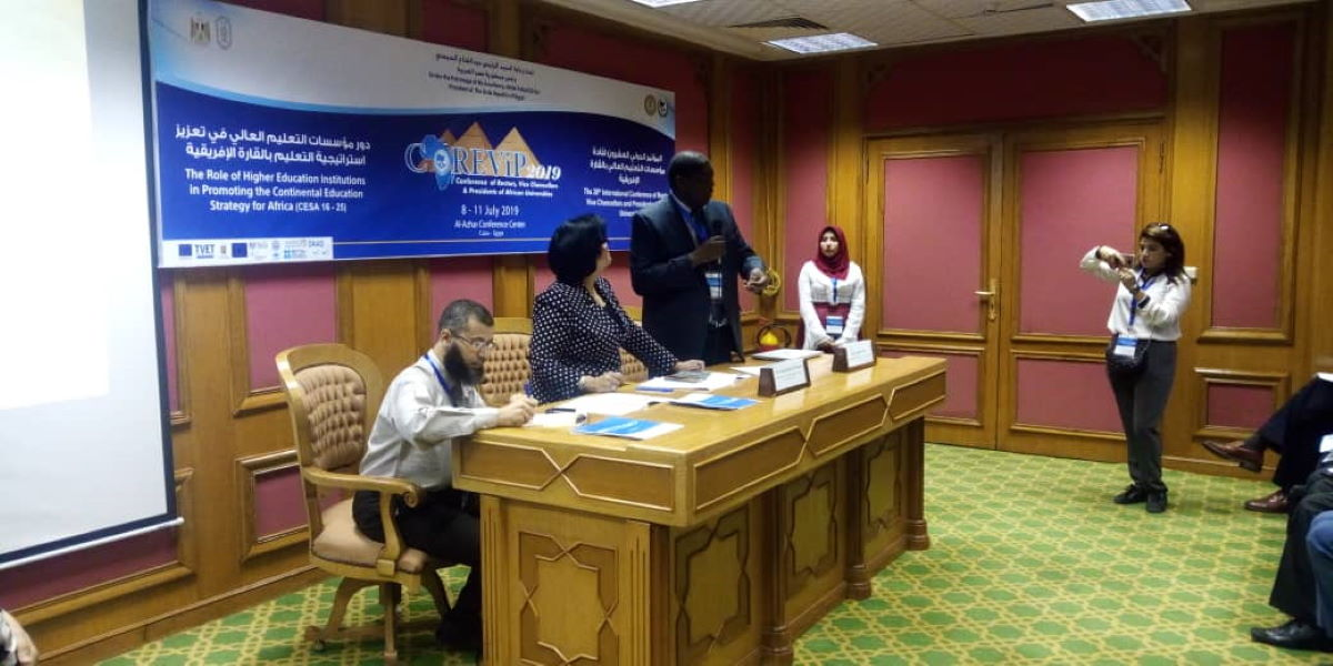 Accord Attends AAU Conference Cairo