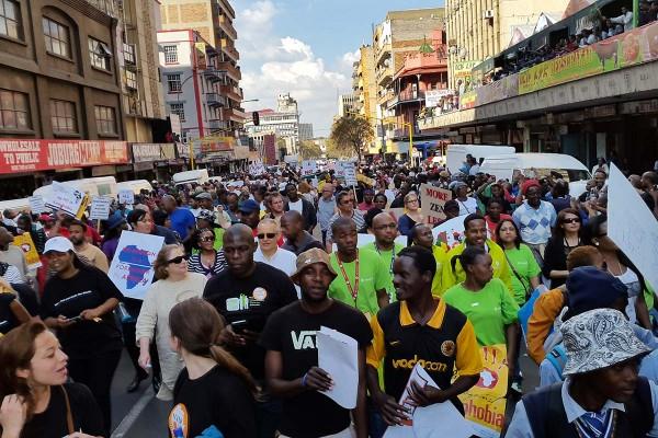 Anti Xenophobia March