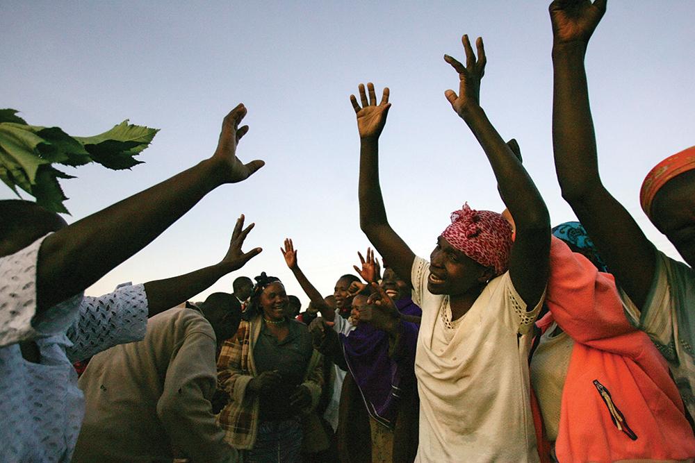 Women From The Kenyan Town Of Ki