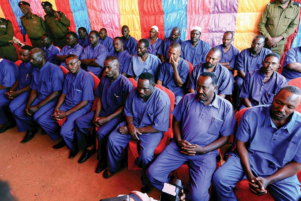 Prisoners from Darfur
