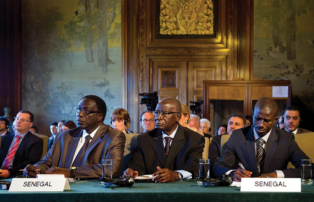 Delegation of Senegal