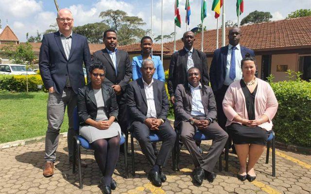 ASC visit EASF Secretariat
