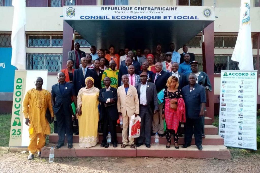 CAR Social Economic Council Bangui