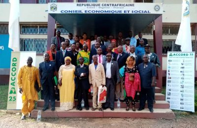 CAR Social Economic Council Bangui