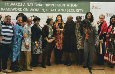 South Africa NSP Women Peace Security