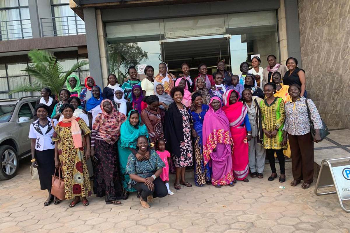 Sudanese Women Basic Training
