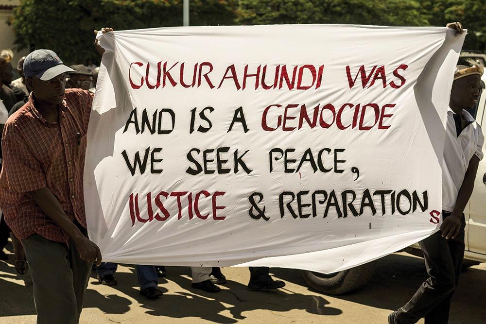 Gukurahundi massacre protest