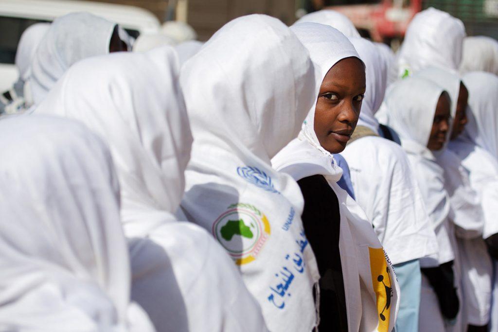 Sudanese women and girls