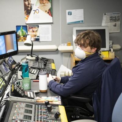 COVID-19 UNTV broadcast engineer