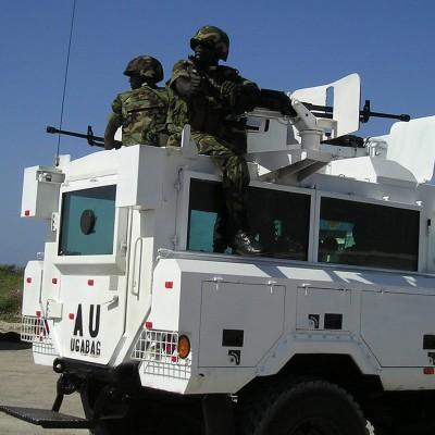 AU peacekeepers