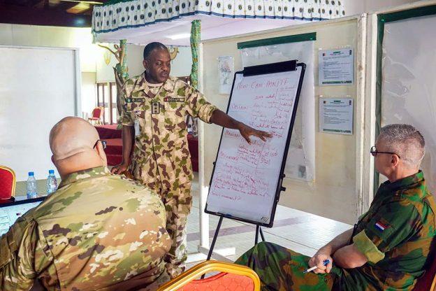 Nigerian military officer