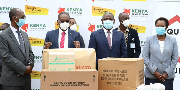 EGF Donates PPEs to Public Hospitals