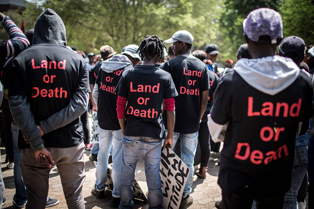 Land dispossession in South Africa