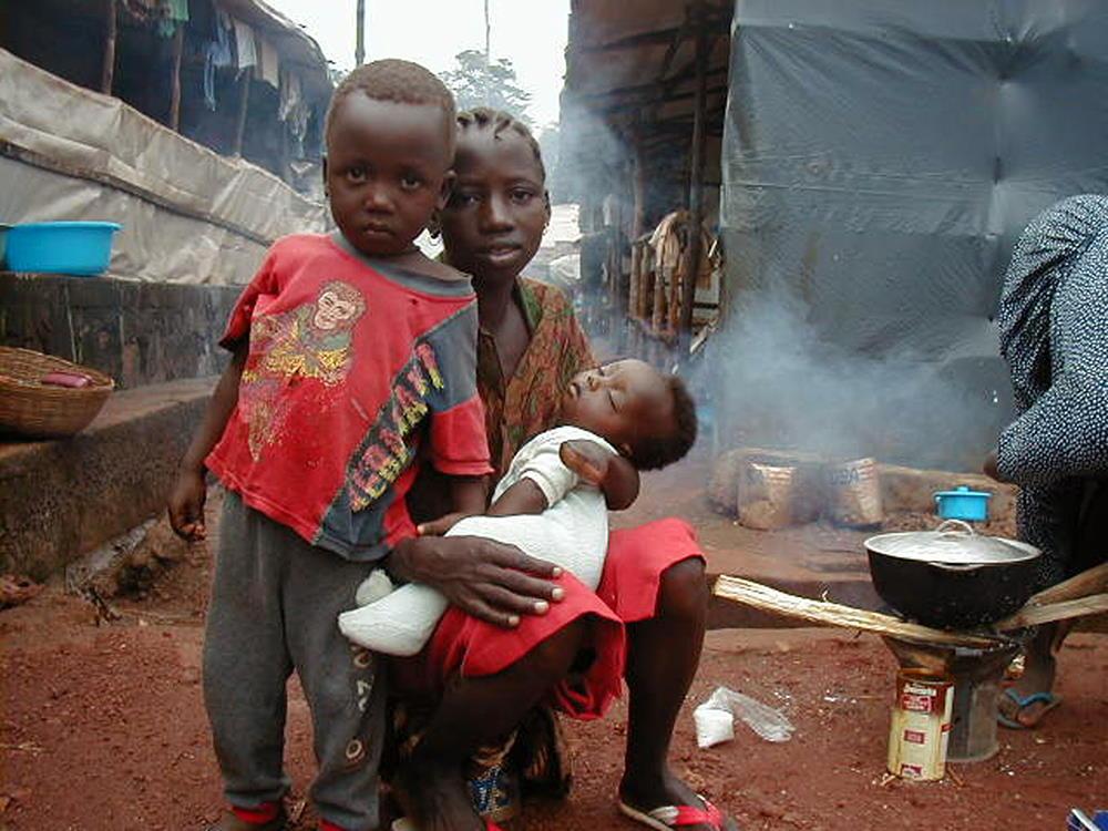 Sierra Leone war victim