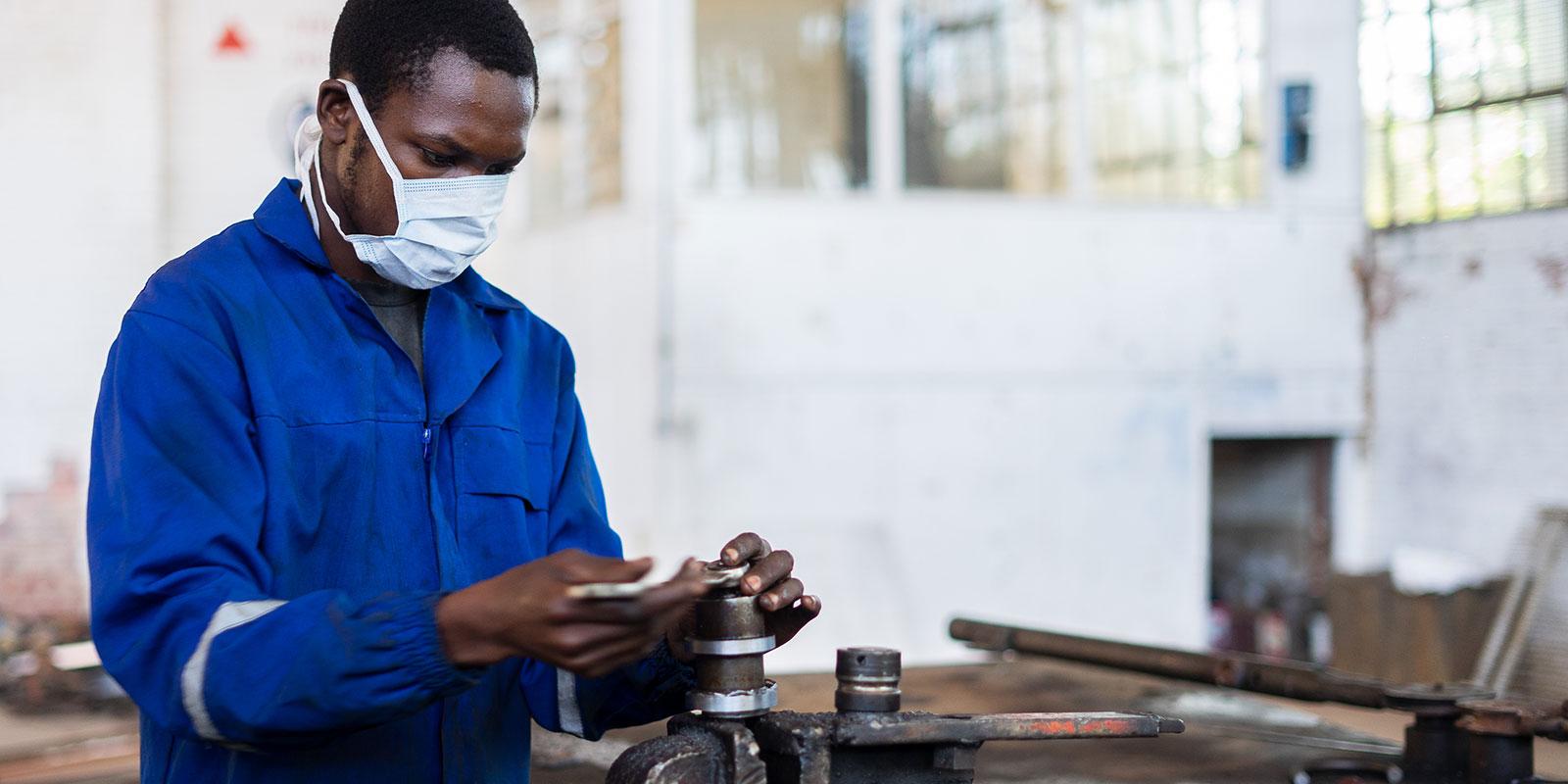Photo: KB Mpofu/ILO