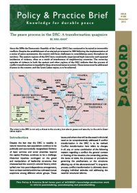 ACCORD - PPB - 20 - The peace process in the DRC