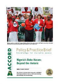 ACCORD - PPB - 29 - Nigerias Boko haram