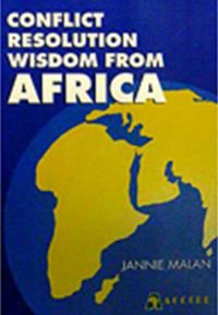 Conflict Resolution Wisdom From Africa